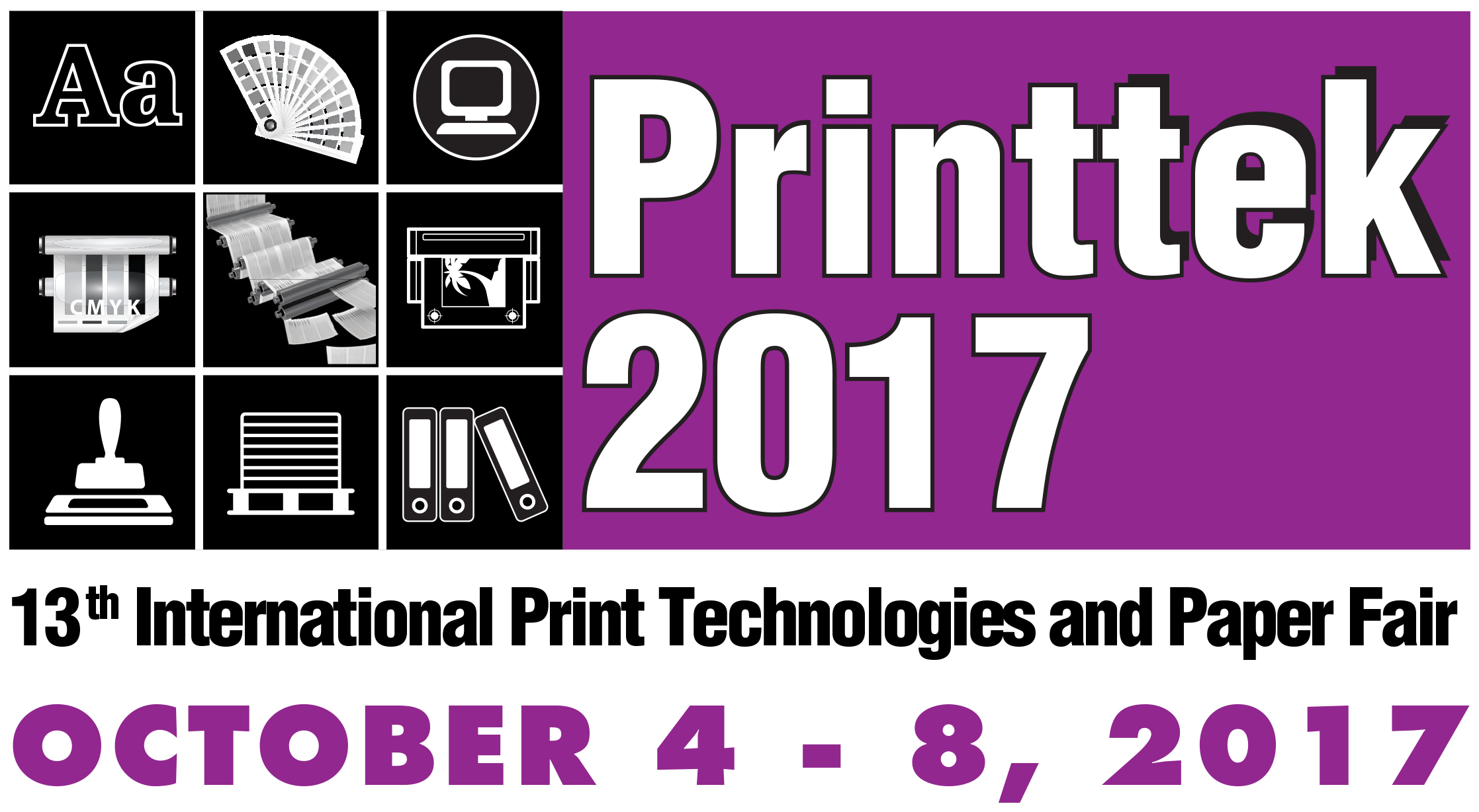 Printtek 2017, 13th International Print Technologies and Paper Fair